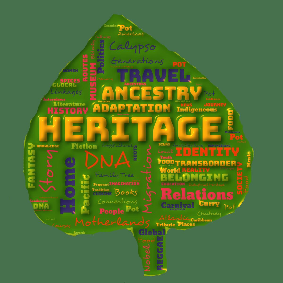 Leaves of Life Kris Rampersad Interconnected Global Heritage