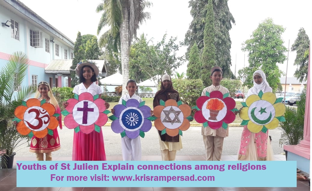 Youths connect village to global village and encourage curiosity towards understanding of world religions